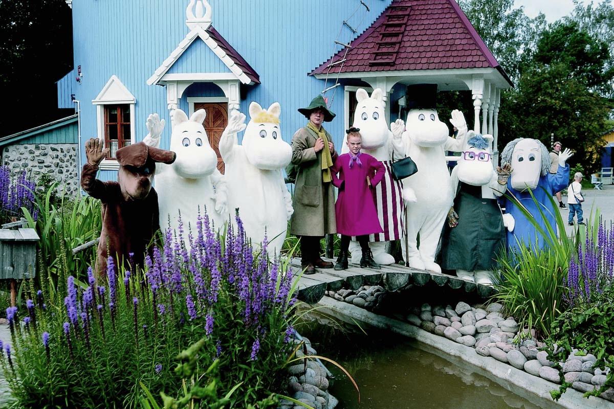 Путешествия по Финляндии Moomins